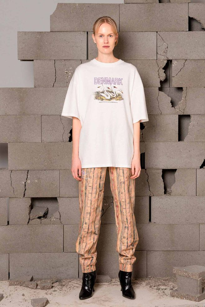 Boyfriend tee F-120028, OFF WHITE