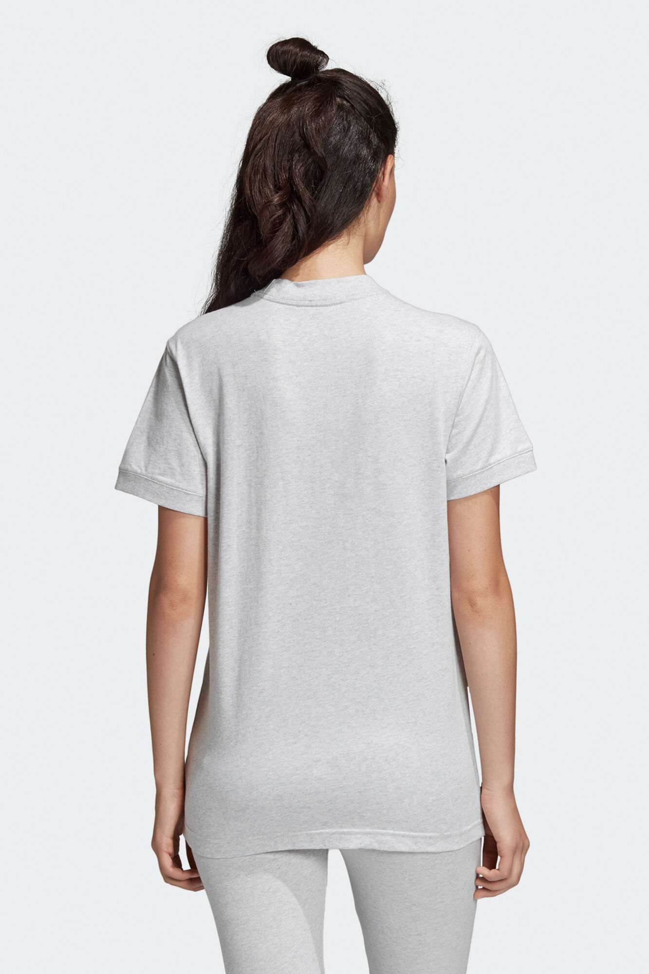 Coeeze T-shirt DU7191, LIGHT GREY HEATHER