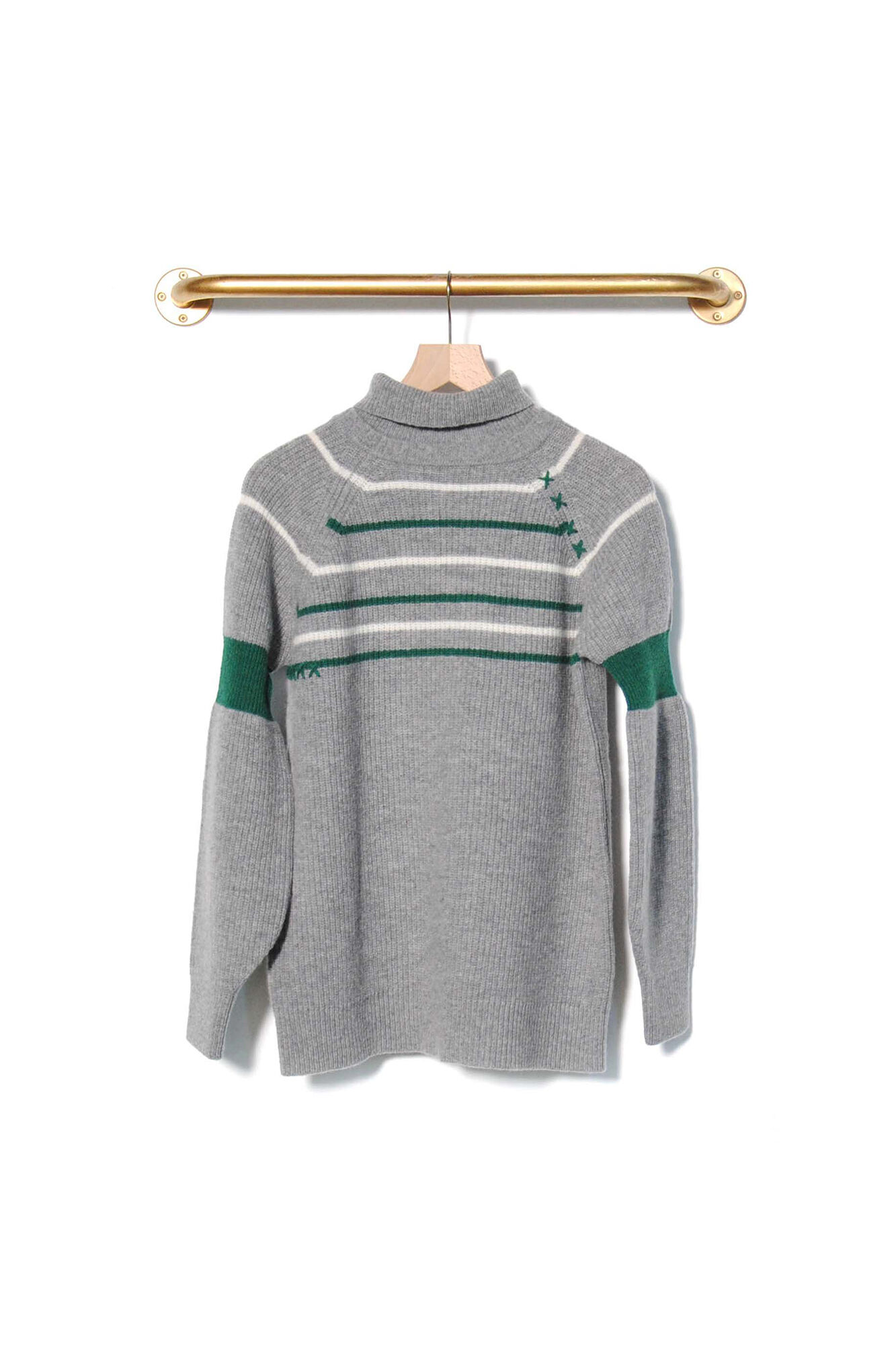 Mending Lambswool Sweater 2785, GREY