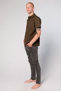Mist Shirt M-110090, OLIVE CANVAS