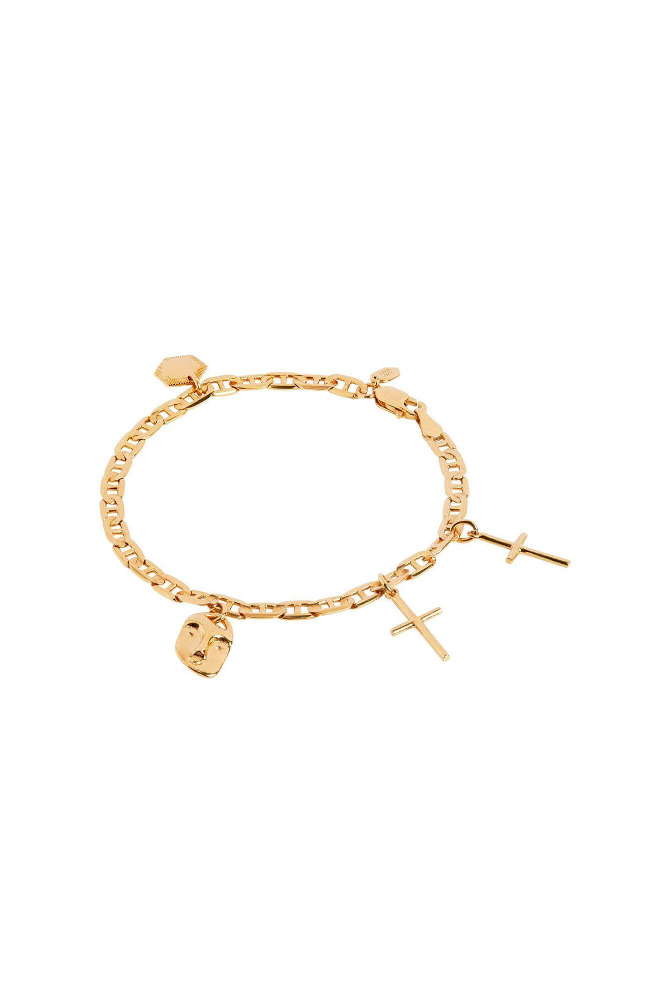 Friend charm bracelet 400232YG, GOLD HP