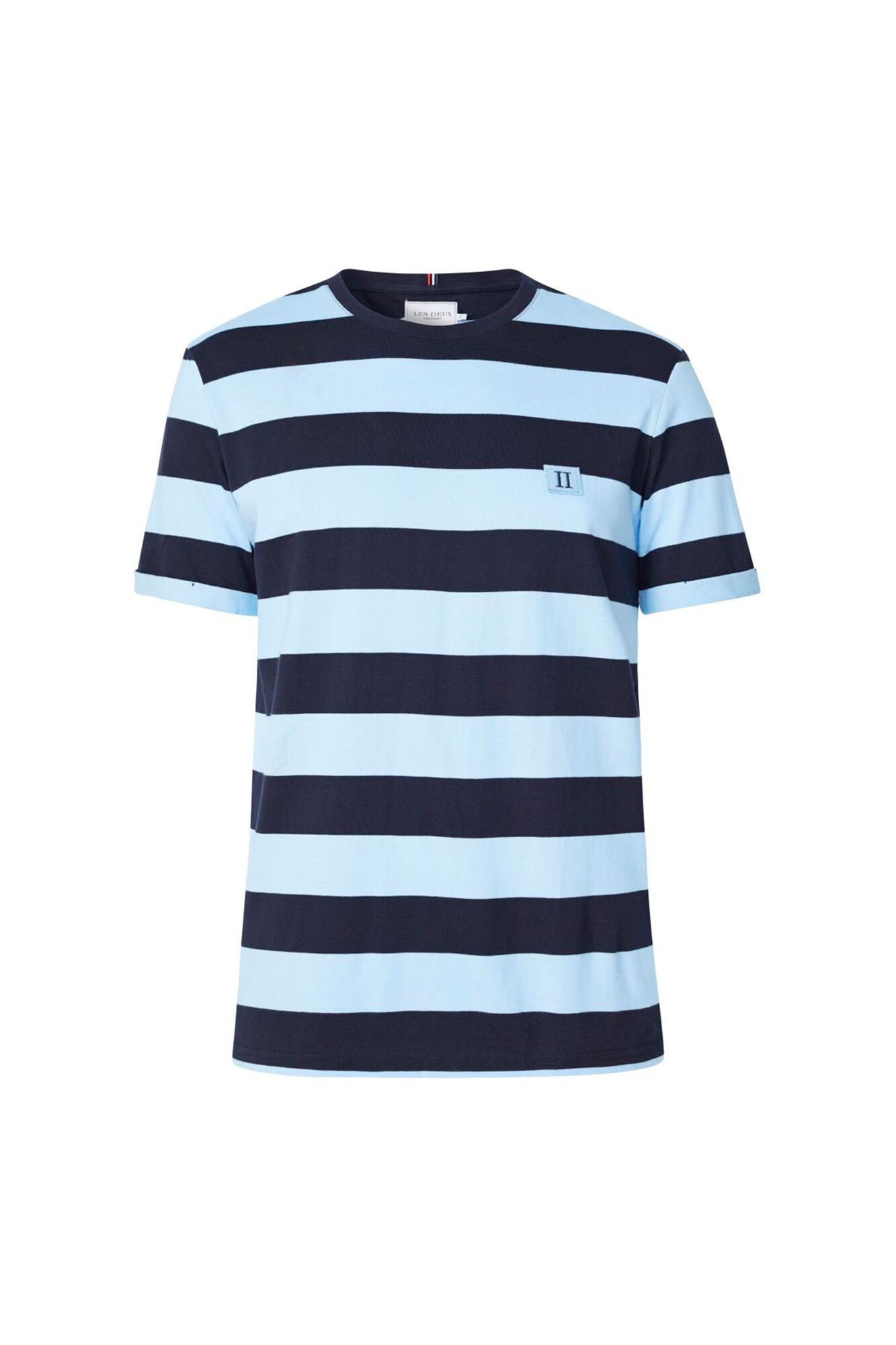 Levoir T-shirt LDM101032, PLACID BLUE/NAVY