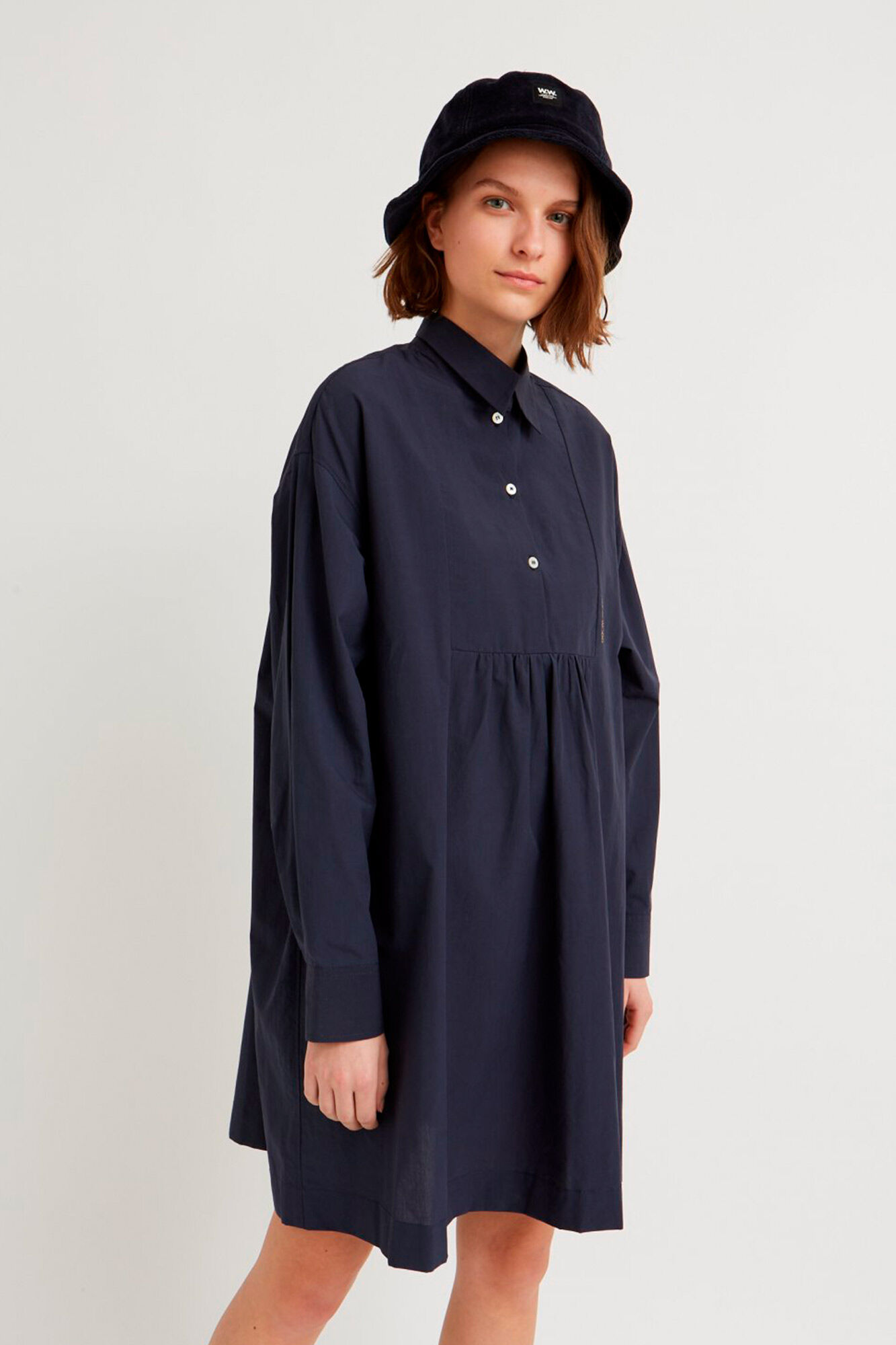 Janica dress 11931111-1167, NAVY