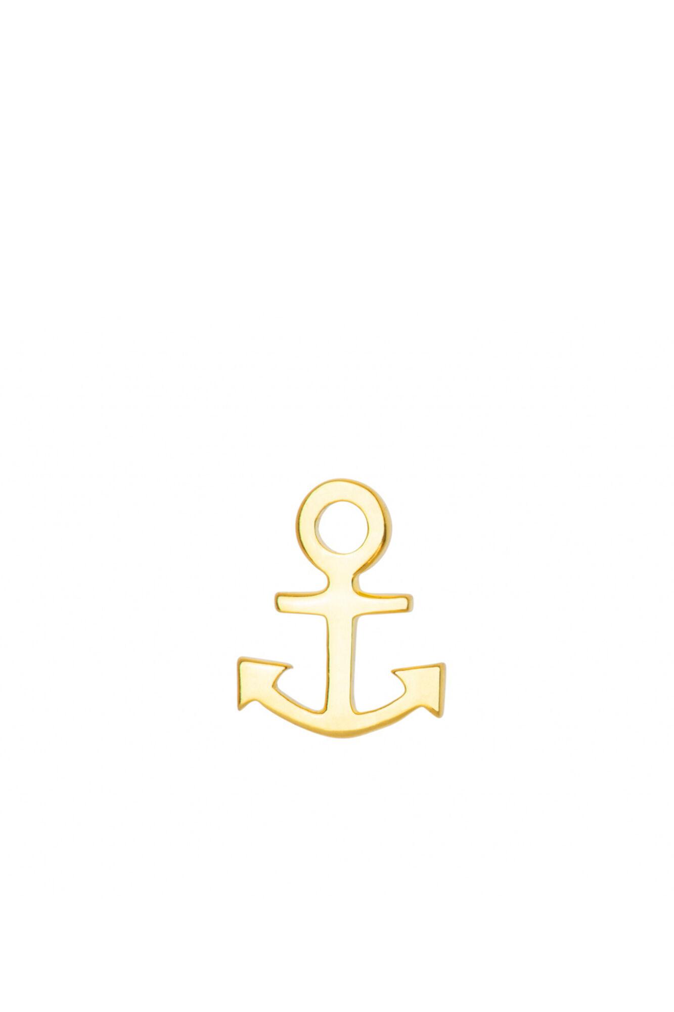 Anchor Ear Stud LULUE100, GOLD PLATED