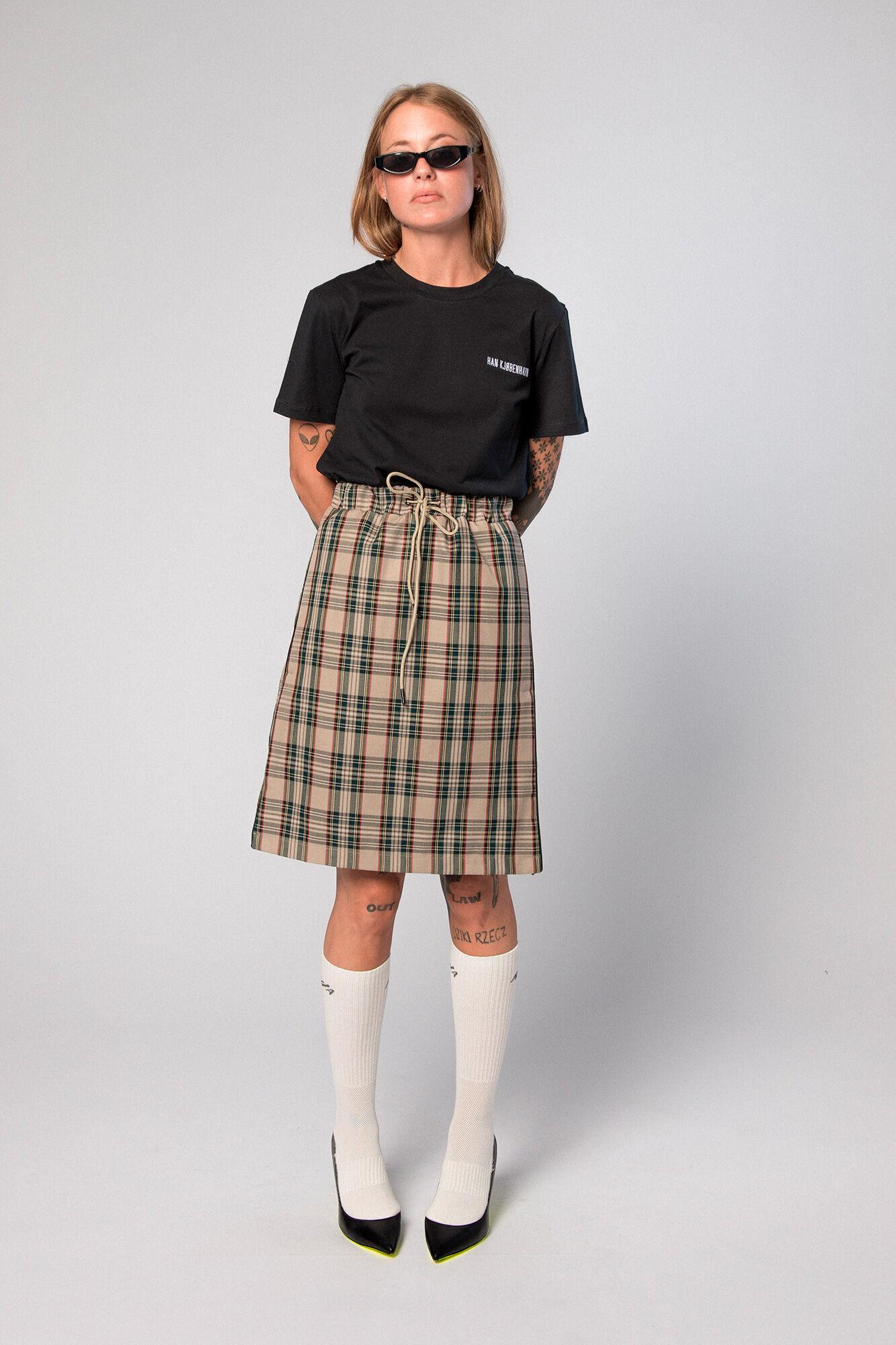 Knee Skirt F-110091, SAND TARTAN
