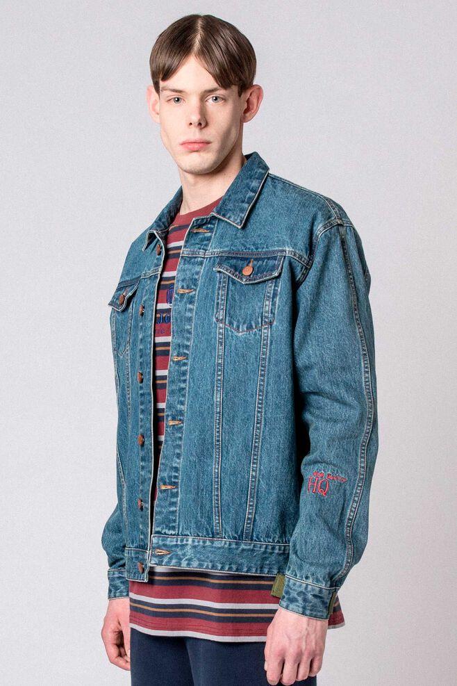 Velcro Denim Jacket M-110089