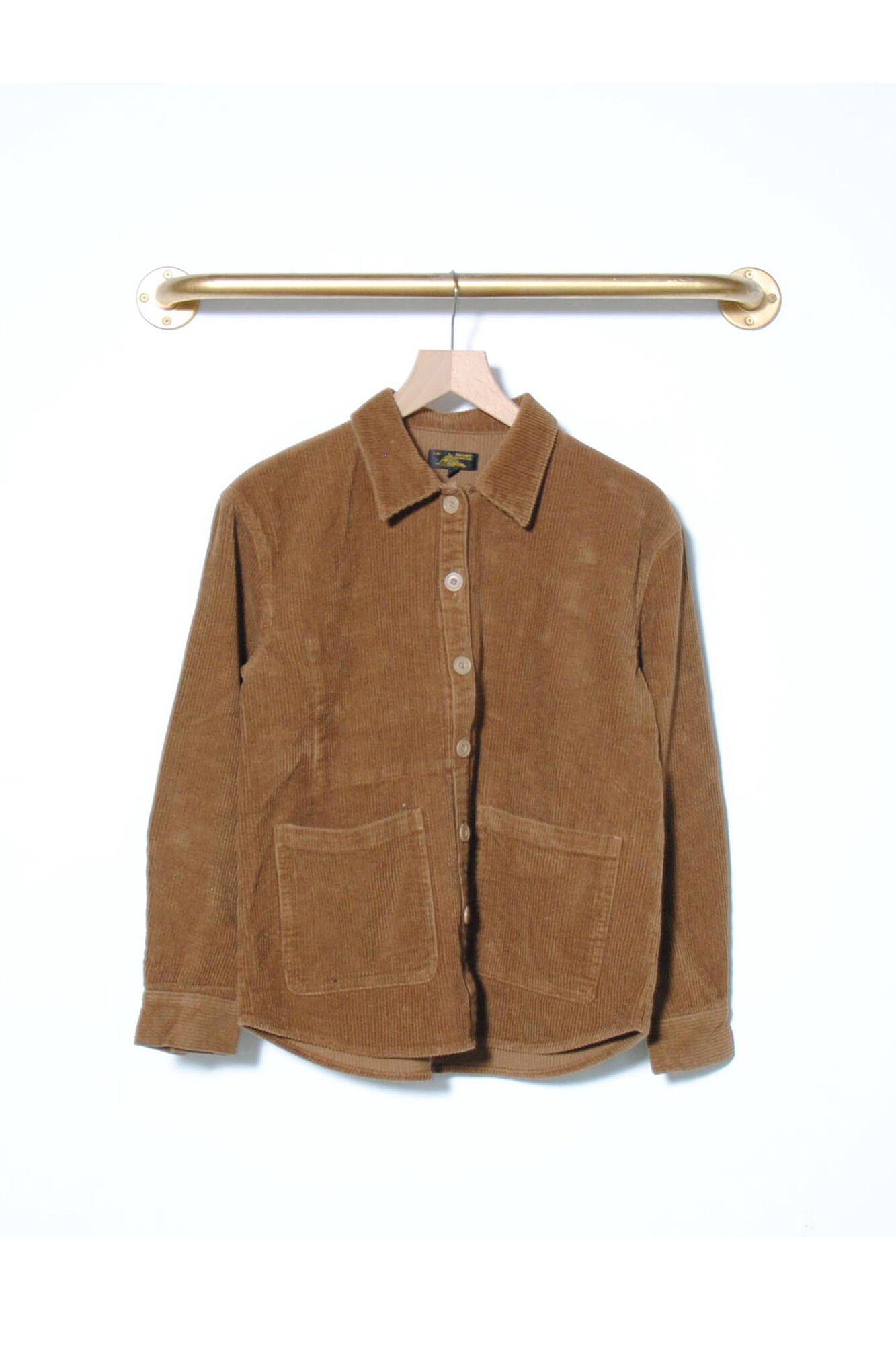 Corduroy Shirt 2839, BROWN