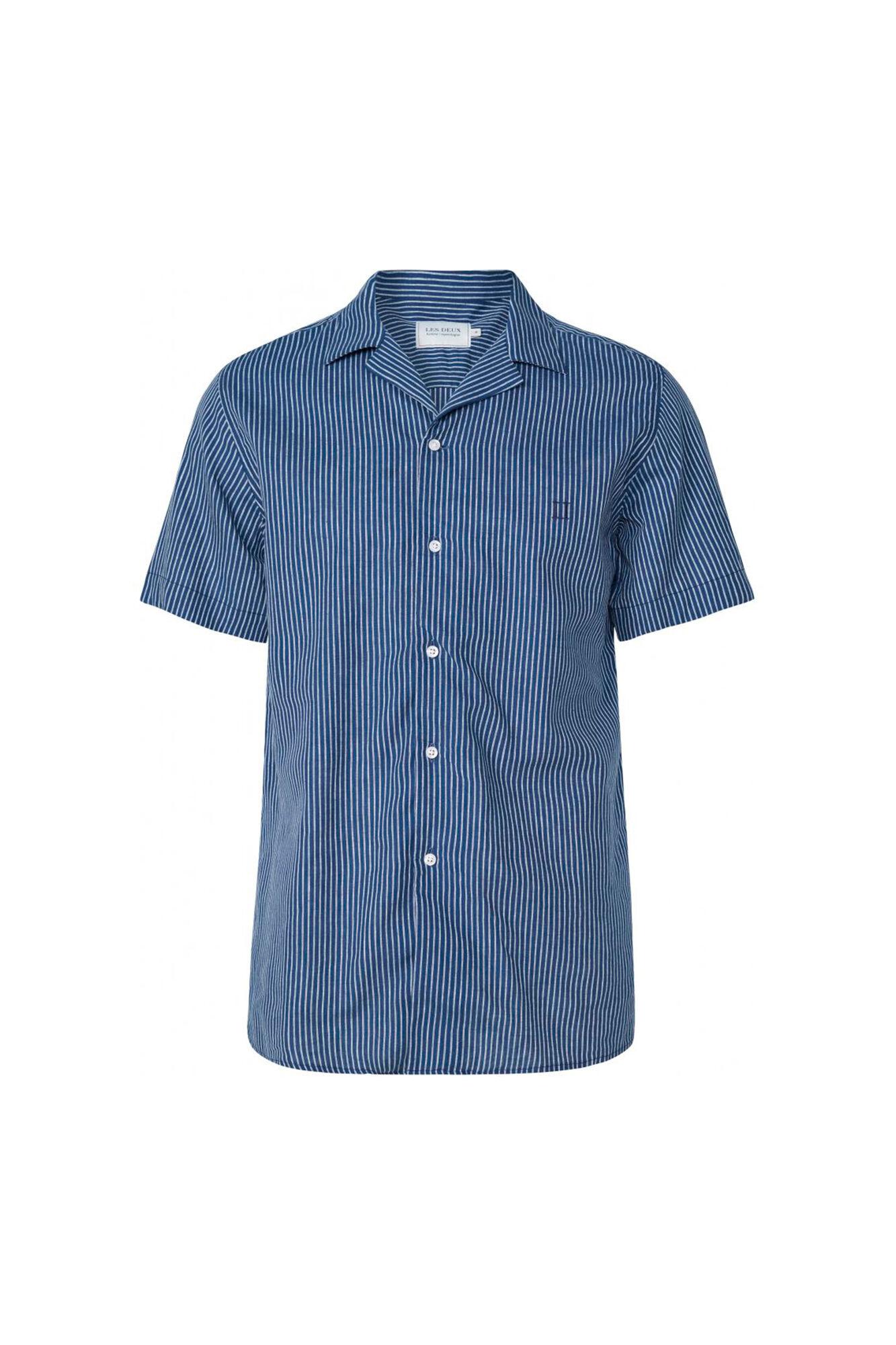 Simon Shirt LDM401006, DARK NAVY/WHITE