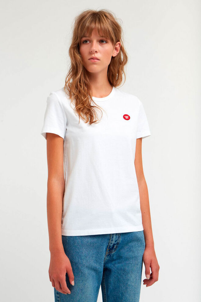 Uma T-shirt, BRIGHT WHITE