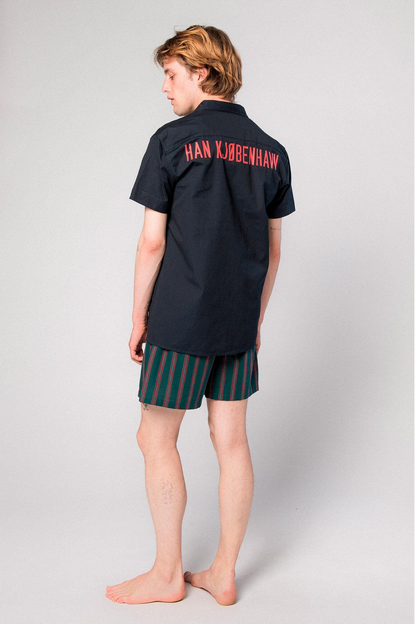 Mist Shirt M-190001, NAVY CANVAS