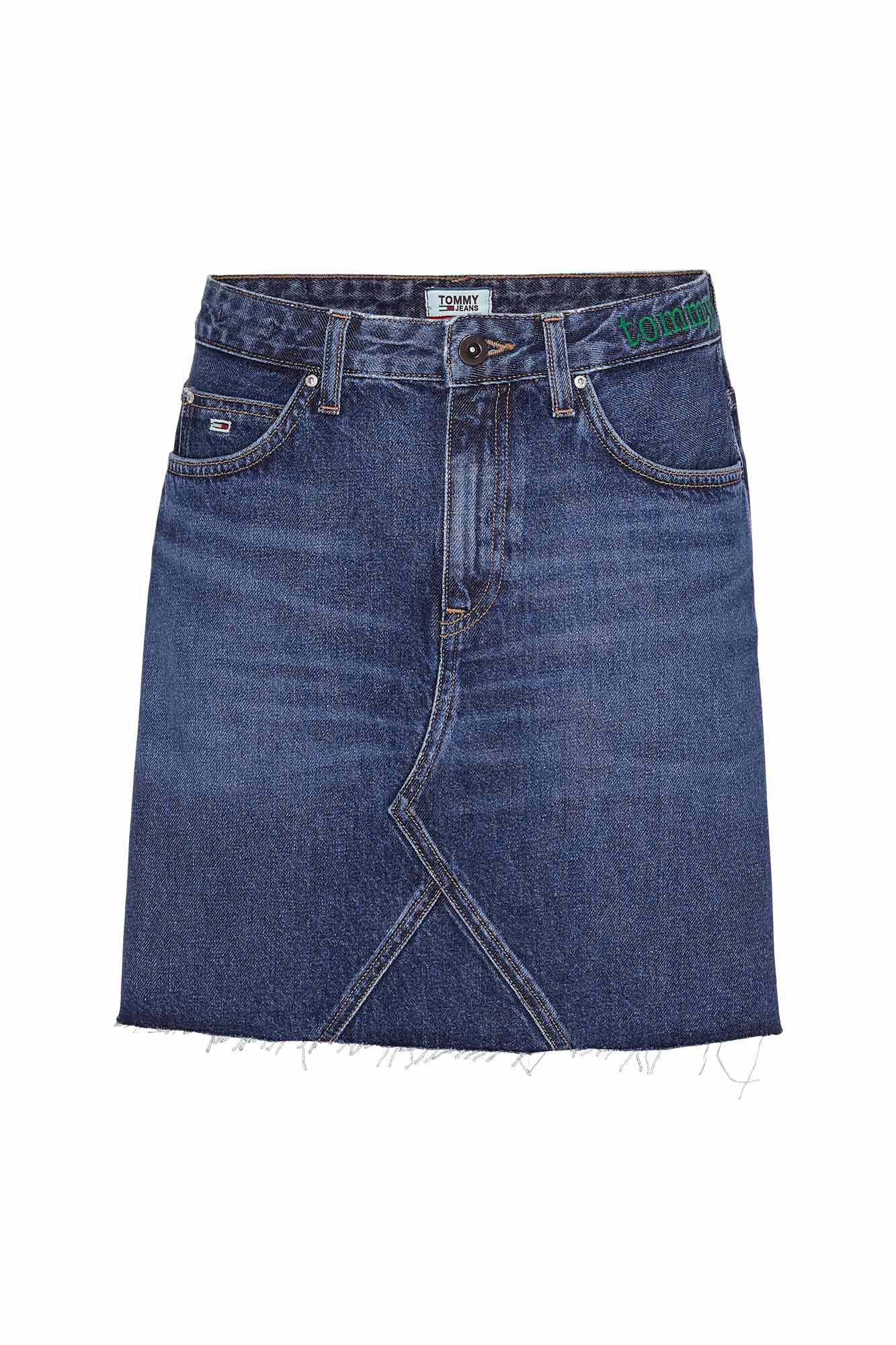 Tj short denim DW0DW06874, TJ SAVE MID BL RIG