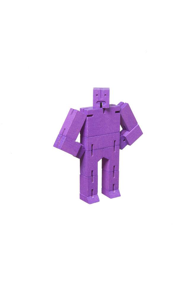 Cubebot micro 3d puzzle robot, PURPLE