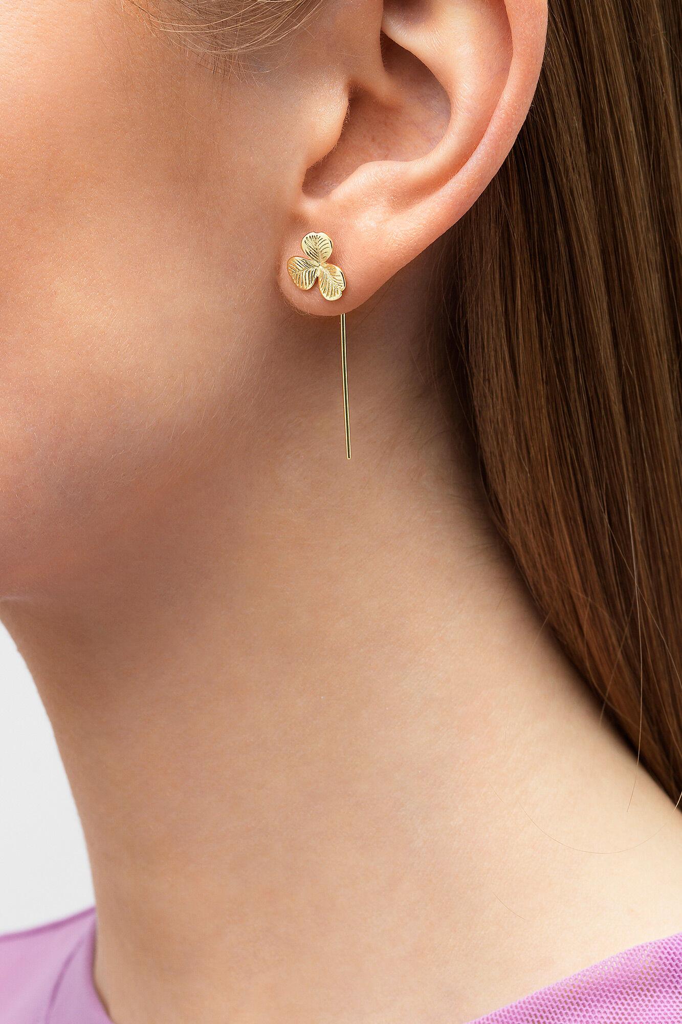 Clover Earring, GULD