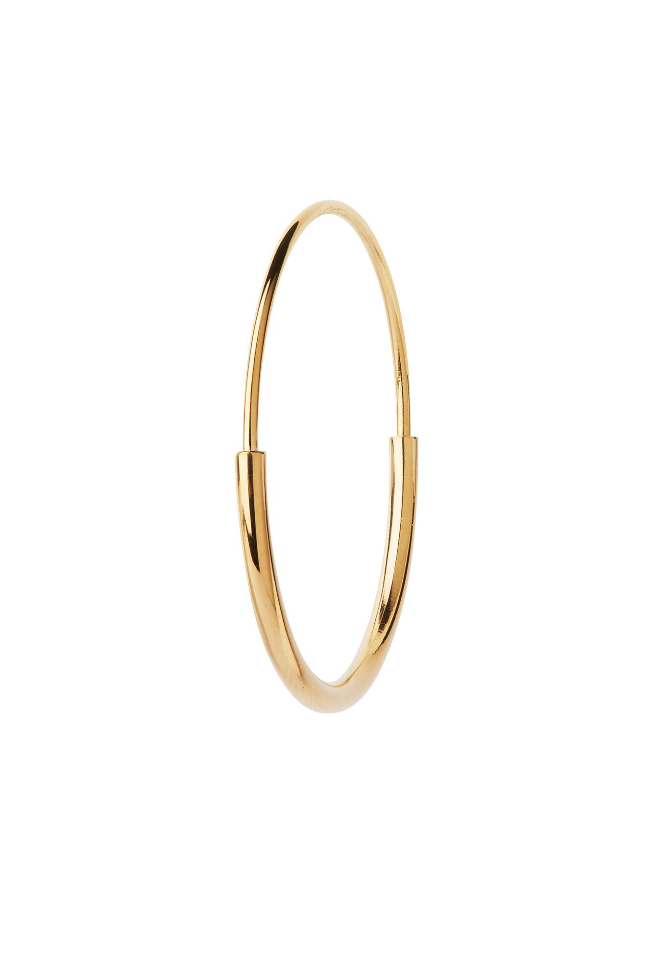 Delicate hoop 26 earring, GOLD