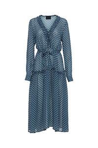 Maggie Dress 3126274, BLUE DOTS