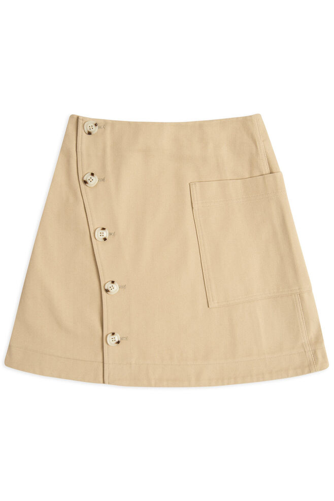 Anesia skirt 11911901-5188, LIGHT KHAKI