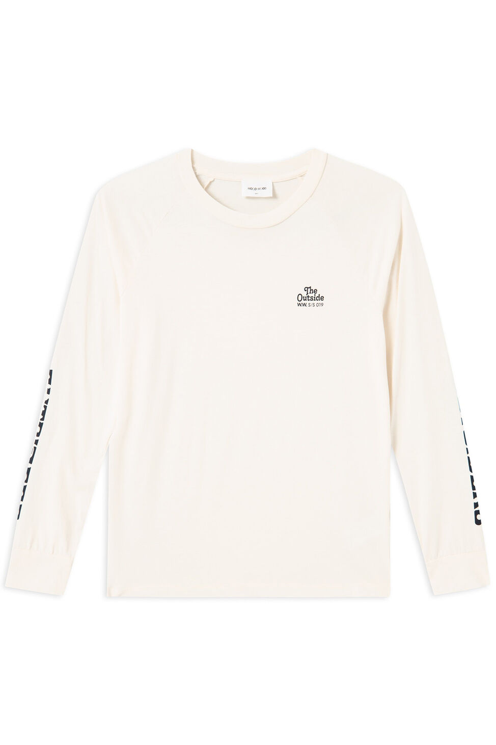 Halli long sleev 11911508-2434, OFF-WHITE