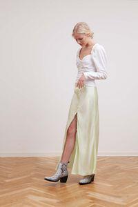 Supreme long skirt 3221370, PASTEL LIME
