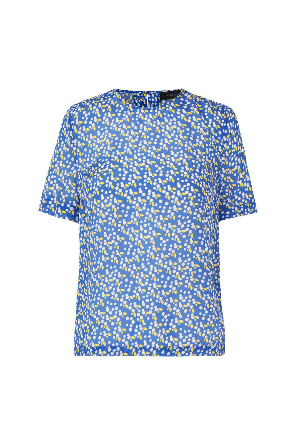 Balan-ss 22732, ALL OVER PRINT BLUE