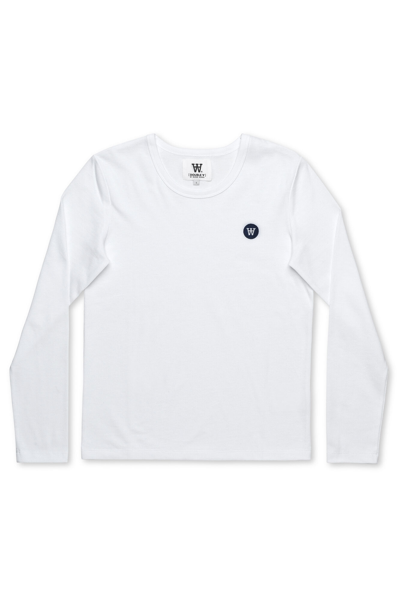 Moa long sleeve, BRIGHT WHITE