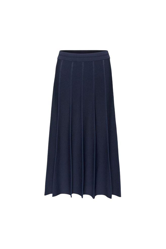 Ellen knit skirt 11861228, NAVY