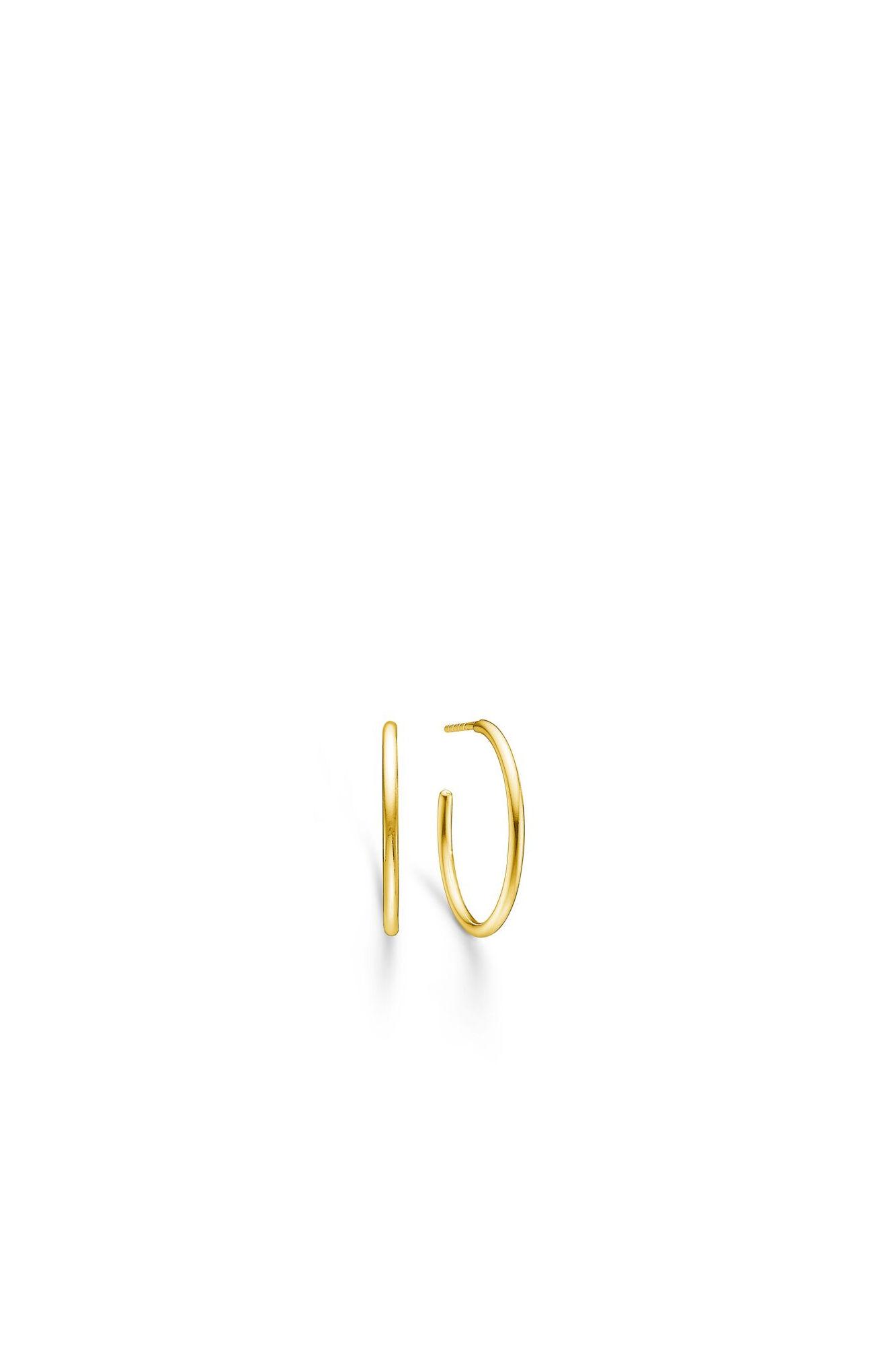 Dash medium hoops IDH025GD, GOLD