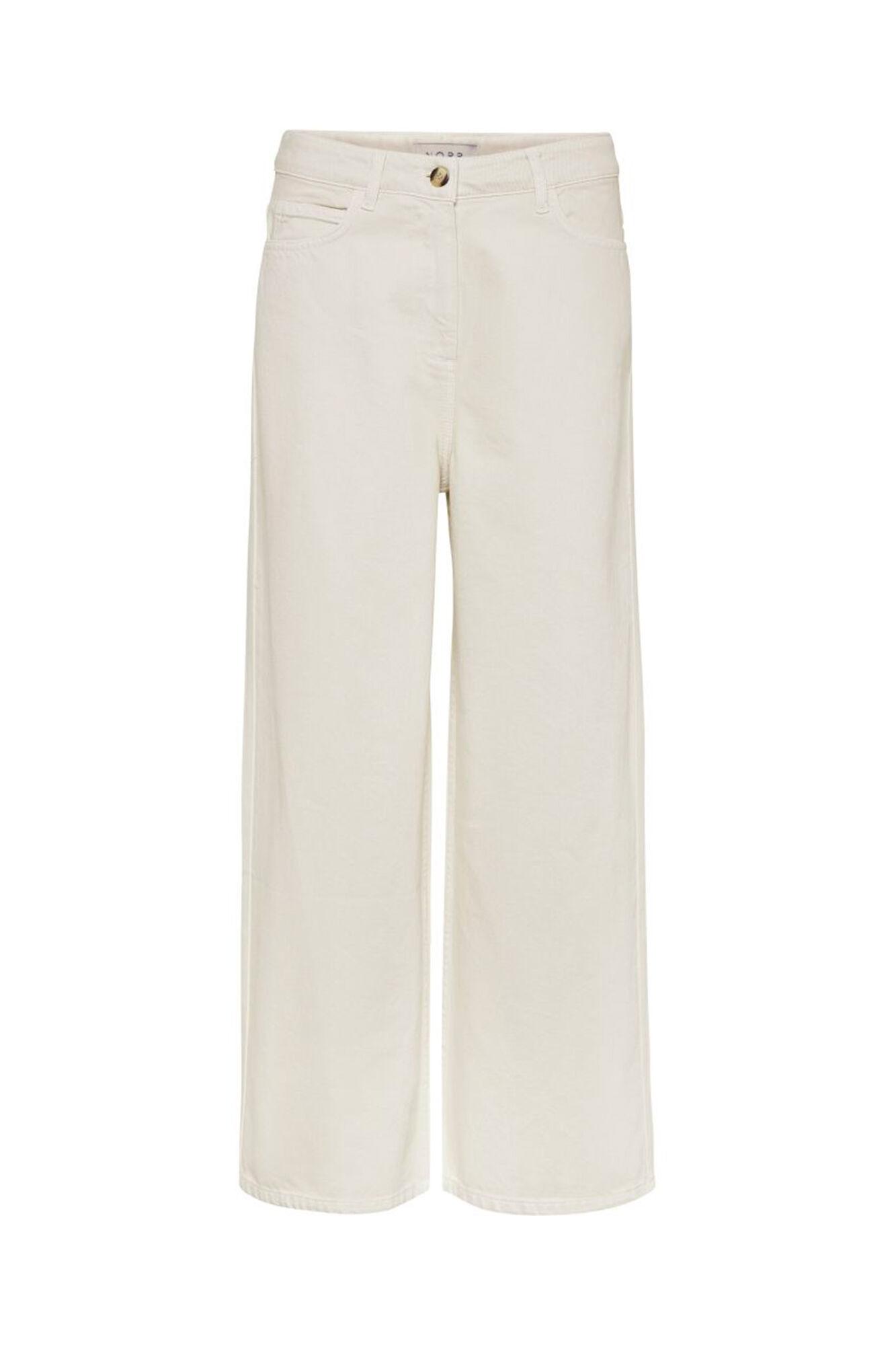 Hannah Wide Leg Jeans 11861209, OFF WHITE