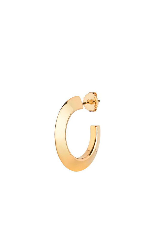Else Hoop Small Earring, GOLD HP