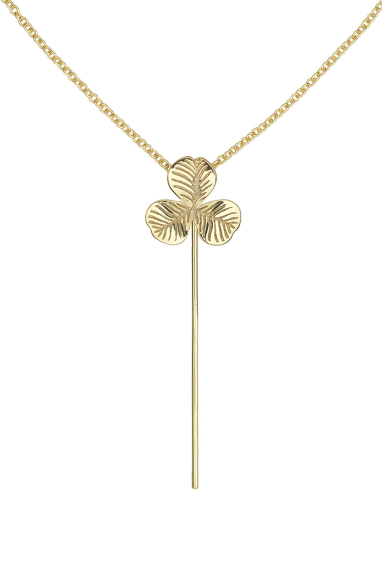 Clover Necklace, GULD