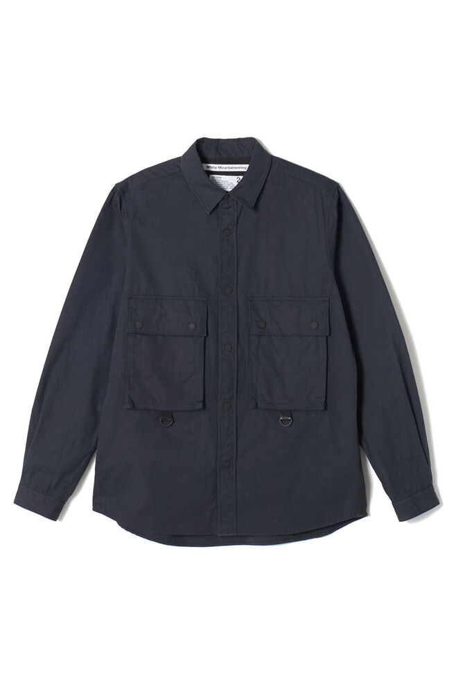Big pocket shirt WM1973102, BLACK BLCK