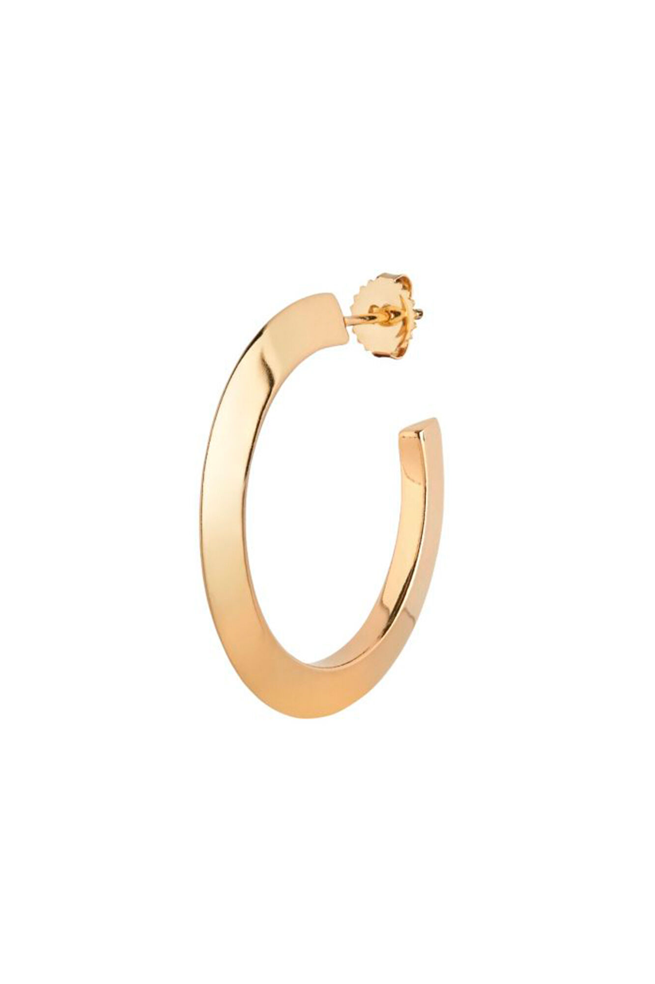 Else Hoop Medium Earring, GOLD HP
