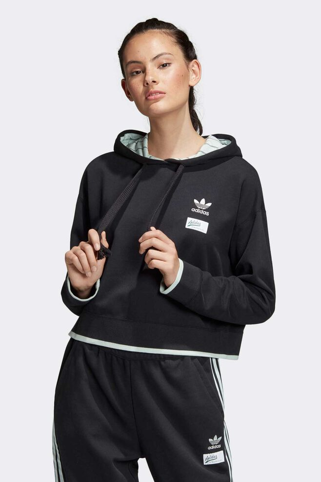 Cropped hoodie DU9927