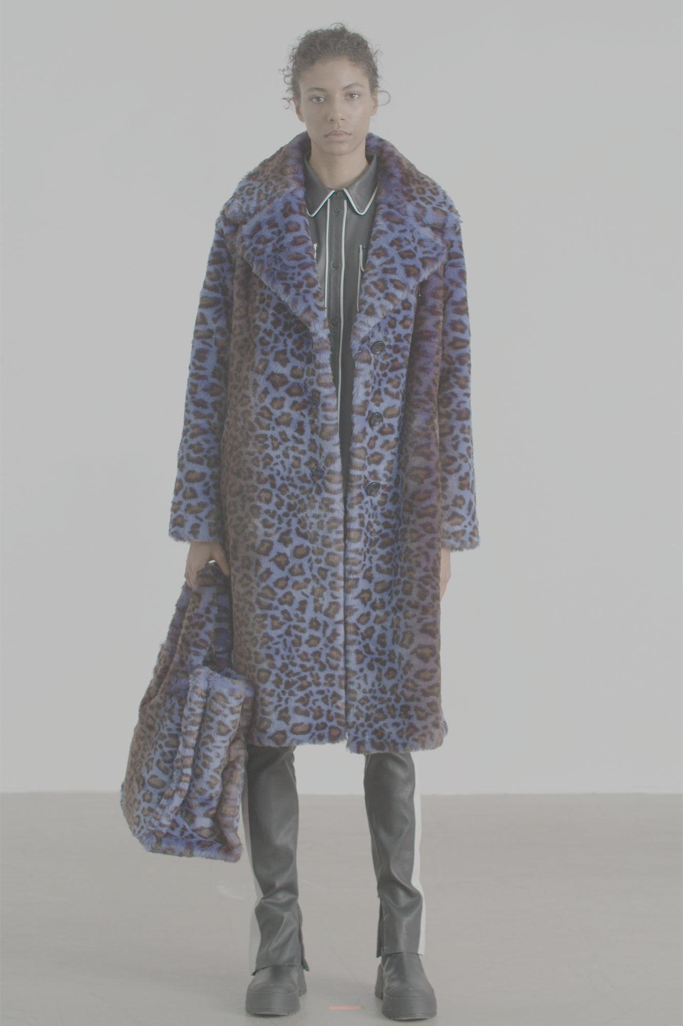 Fanny Coat 60655-8144, ACID BLUE