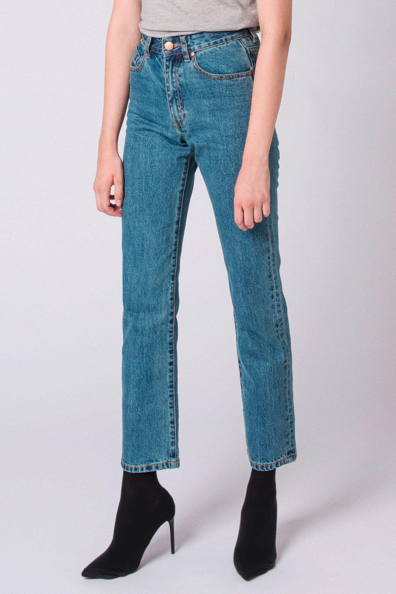 Boyfriend Jeans F-90058-12, HEAVY STONE WASH