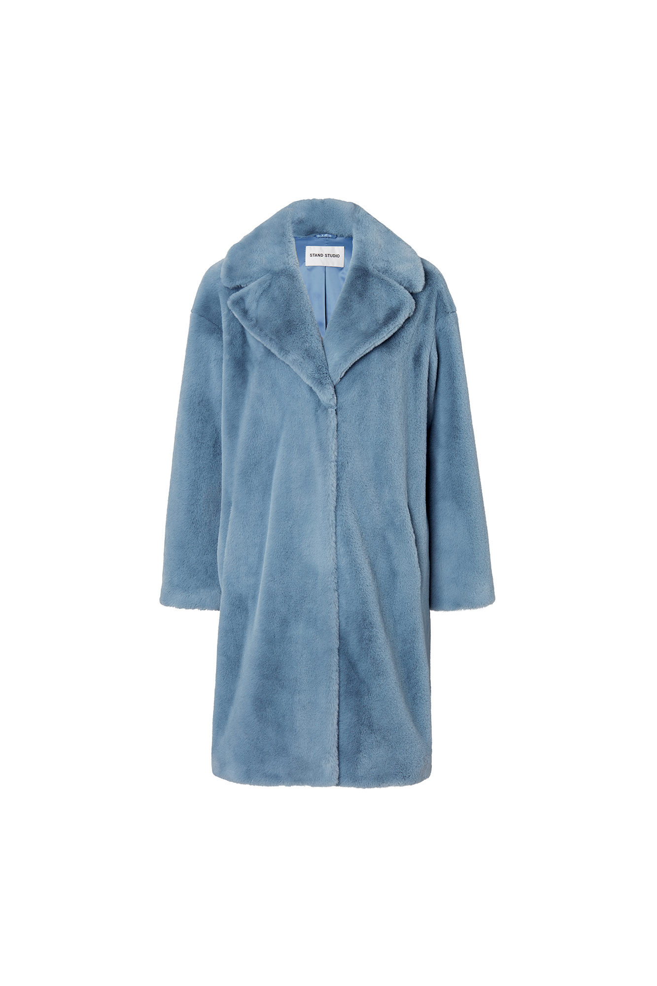 Camille coat 60664-8950, STEEL BLUE