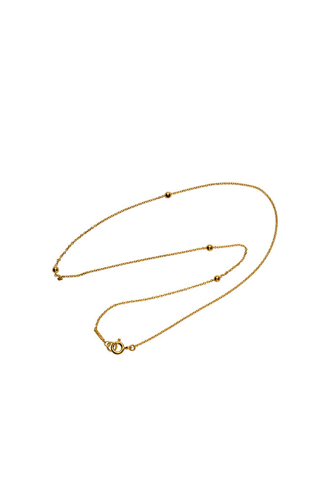 Jupiter Necklace LULUN014, GOLD PLATED